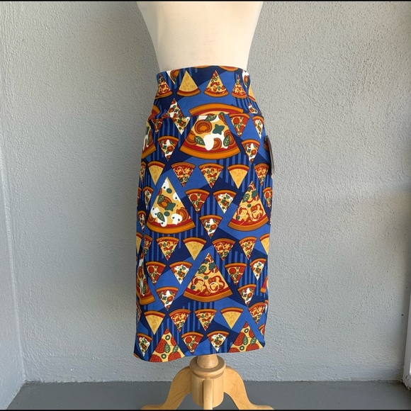 LULAROE Cassie Pizza Skirt Size XL